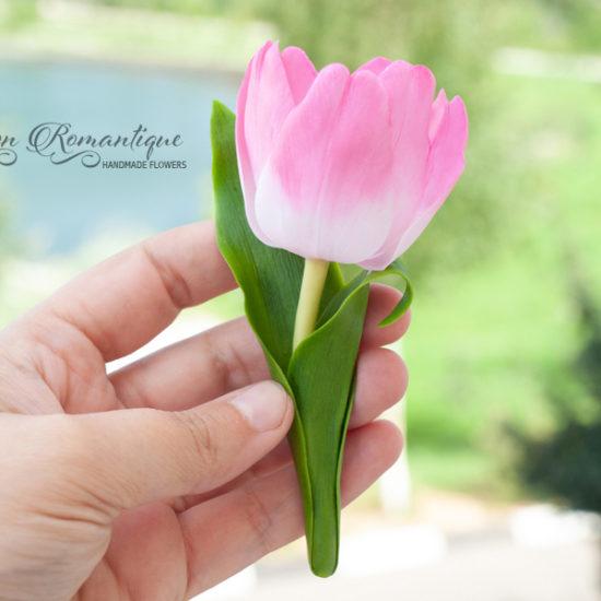 Брошь Тюльпан
